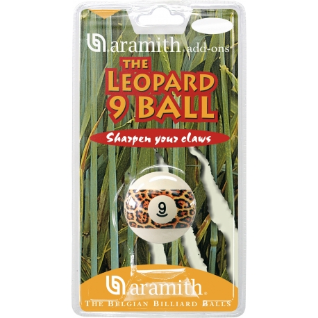 KOULE ARAMITH LEOPARD 9 BALL