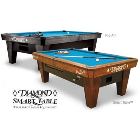 Diamond Pool 9ft Brown