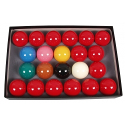 ARAMITH SUPER CRYSTALATE SNOOKER SET 52.4MM