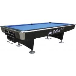 Kulečníkový stůl Pool Buffalo Pro II ,9ft košíkový Drop Pocket , černý