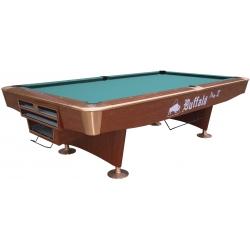 Kulečníkový stůl POOL BUFFALO PRO II BALL RETURN 9FT hnědý
