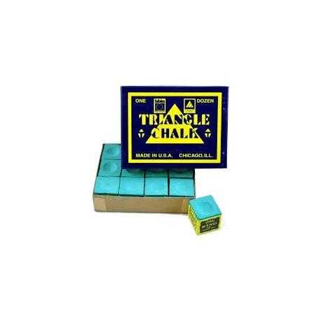 Kulečníková křída Triangle zelená 12ks