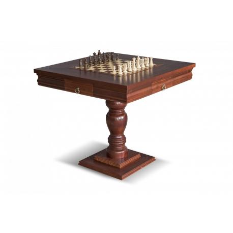 Šachový stolek Kasparov 81x81 masiv