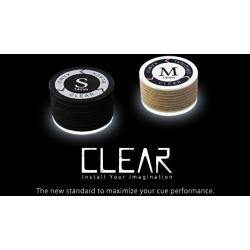 Kůže vrstvená Kamui Clear Black S - 14 mm