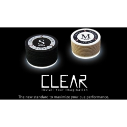 Vrstvená kůže KAMUI Clear Black SS - 14 mm