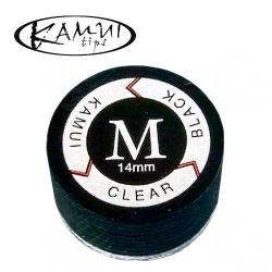 Kůže vrstvená Kamui Clear Black M - 14 mm