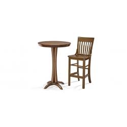 BRUNSWICK stůl+ 2 židle