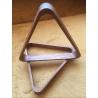 Dřevěný trojúhelník De LUXE masiv