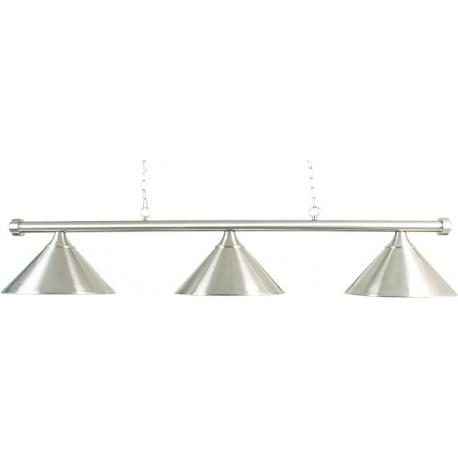 Lampa Brushed chromová 3 stínidla