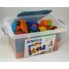 Magnetiko 38ks transparentdeluxe box + plátěný sáček