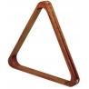 Trojúhelník pool dřevěný s mosazí, 57,2 mm