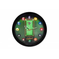 Hodiny Billiard Clock