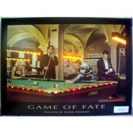 Obraz s diodami Game of Fate