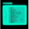 Magnetická kreslící tabulka MagPad Neon svítící
