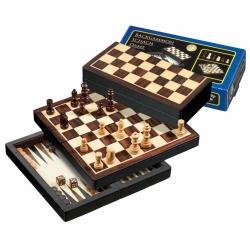 Šachy+dáma+Backgammon set Magnetic