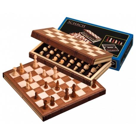 Šachy cestovní 30x30 cm
