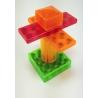 Magnetiko 19 ks transparent  plast box