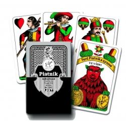 Karty mariáš Piatnik jednohlavé