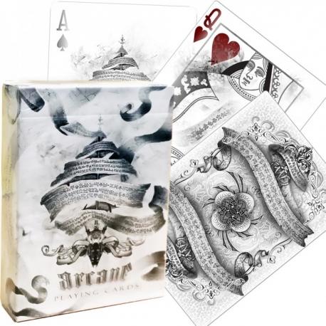 Kouzelnické karty  Arcane Bílé  Bicycle