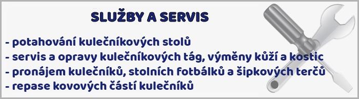 Služby a servis