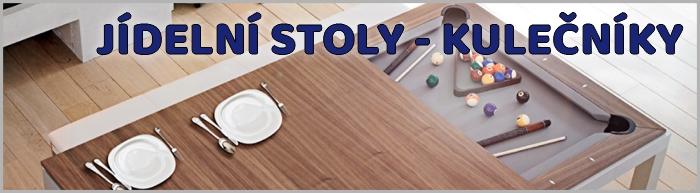 Jídelní stoly - kulečníky